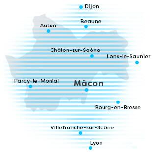 Situer notre entreprise SSII informatique à Mâcon – PARTNER